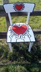 Stuhl Keith Haring